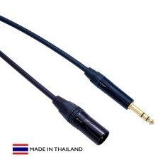 ส่วนลด Jack Cable Studio Balanced 1 4 Trs Male To Xlr Male Audio Cable สีดำ ความยาว 1 ม Jack Cable