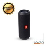 ซื้อ Jbl Flip 3 Portable Bluetooth Speaker With Mic รุ่น Flip 3 Black Jbl ออนไลน์