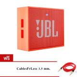 Jbl Go Bluetooth Speaker Orange ฟรี Cablesfrless Tm 3Ft 3 5Mm กรุงเทพมหานคร