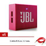 ขาย Jbl Go Bluetooth Speaker Pink ฟรี Cablesfrless Tm 3Ft 3 5Mm ออนไลน์
