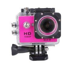 JC Gadget JC4000 Action Camera Full HD 12 MP Wifi (Pink)