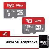 ขาย ซื้อ Jj Memory Card 128Gb Micro Sd Card Class 10 Fast Speed 2ชุด แถมฟรีmicro Sd Adapter ใน กรุงเทพมหานคร