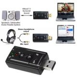 ขาย Jj Usb 2 Sound Card Usb Sound External Usb Virtual 7 1