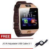 ราคา Jo In บลูทูธ Dz09 Android โทรเตือนนาฬิกาอัจฉริยะ ทอง อิสระปรับได้สายยูเอสบี จีน