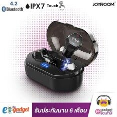 ซื้อ หูฟังไร้สาย Joyroom Jm E3 หูฟังบลูทูธ 4 2 ทัสกรีน กันน้ำ กันเหงื่อ Ipx7 หูฟังไร้สาย True Wireless Touch Screen Ipx7 Waterproof Bluetooth 4 2 Black ใหม่