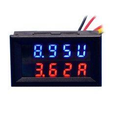 ส่วนลด Jtron 28 Led 4 Digital Dual Display Dc Ammeter Voltmeter สีฟ้า N โวลต์ สีแดง Amp 100 โวลต์ 100A Unbranded Generic ฮ่องกง