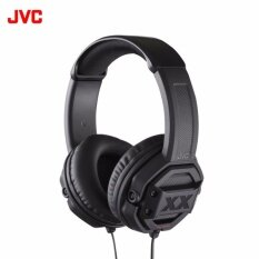 JVC หูฟัง Over-Ear พร้อม Mic รุ่น HA-MR60X (Black)