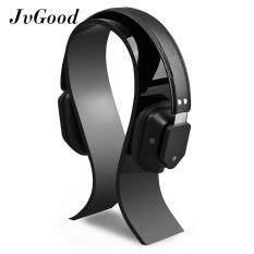 ราคา Jvgood หูฟังอะคริลิคขาตั้งยึดสำหรับเล่นเกม แขวนยืนจอแสดงผลพิเศษหนาสีดำ เป็นต้นฉบับ
