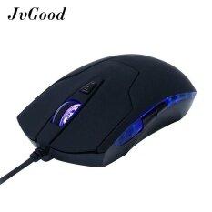 ราคา Jvgood Gaming Mouse Usb Wired Led Backlit Optical Mice 3200 Dpi 6 Buttons Ergonomic Game Mouse For Pc Notebook Laptop Computer Macbook ใหม่