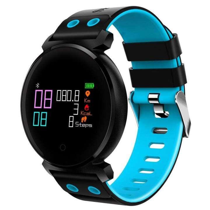 ราคา K2 Wristband Heart Rate Blood Pressure Monitor Smart Watch IP68 Water Proof swimming Bracelet Fitness