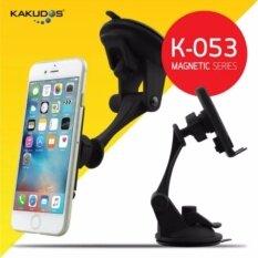ราคา Kakudos Car Holder ที่วางโทรศัพท์มือถือในรถยนต์แบบแม่เหล็ก K 053 สีดำ เป็นต้นฉบับ Kakudos