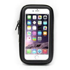 ซื้อ Kakudos กระเป๋าใส่มือถือติดจักรยานกันน้ำ Holder Bicycle Water Proof For Iphone 6 6S รุ่น Mk V2 Black ออนไลน์