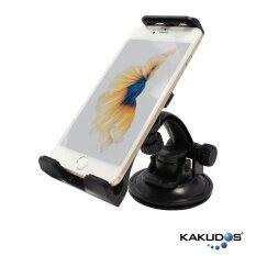ราคา Kakudos ที่วางโทรศัพท์มือถือในรถยนต์ K 095 สีดำ