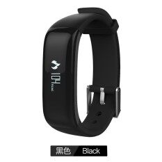 ซื้อ Kaload Sports P1 Smart Bluetooth Bracelet Wristband Heart Rate Blood Monitor Waterproof Ip67 Watch Call Reminde Health Smartwristband Black Intl Kaload