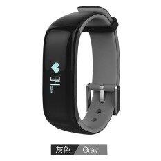 ซื้อ Kaload Sports P1 Smart Bluetooth Bracelet Wristband Heart Rate Blood Monitor Waterproof Ip67 Watch Call Reminde Health Smartwristband Grey Intl Kaload