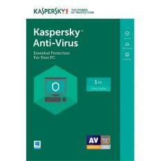โปรโมชั่น Kaspersky Anti Virus 2018 1 Pc 1 Year ของแท้ 100 ติดตั้งฟรี Kaspersky