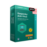 ซื้อ Kaspersky Anti Virus 2018 3 Pc Kaspersky ออนไลน์