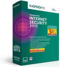 ราคา Kaspersky Internet Security 2015 3 Pcs Kis03Bsv15Fs