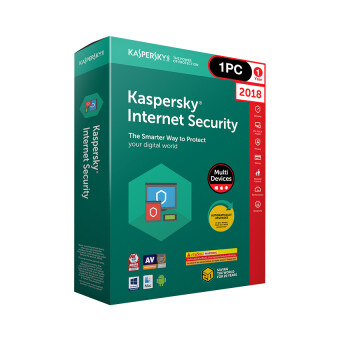 Kaspersky Internet Security 2018 (1 PC)