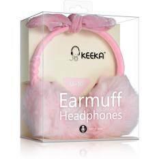 ขาย Keeka U 10 หูฟังไมโครโฟน แฟชันสาวน่ารักแถบคาดศีรษะหูฟังโทรศัพท์ ถูก