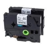 ซื้อ Kenight 2 Packs Tze 231 Label Tape Cassette Compatible For Brother P Touch Standard Laminated Adhesive Printing Machines Black On White 1 2 Inch X 26 2 Feet Intl Unbranded Generic ออนไลน์
