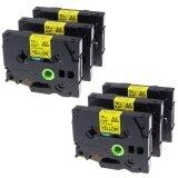 ซื้อ Kenight 6 Pack Tze 631 Label Tape Compatible For Brother P Touch Machines Standard Laminated Adhesive Cassette Tz631 Black Print On Yellow 12Mm X 8M Intl Unbranded Generic
