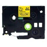 ขาย ซื้อ ออนไลน์ Kenight Label Tape Cassette Compatible For Brother P Touch Standard Laminated Adhesive Printing Machines Tze Tapes Tze 631 Tz 631 Tz631 Black On Yellow 1 2Inch 12Mm X 8M Intl
