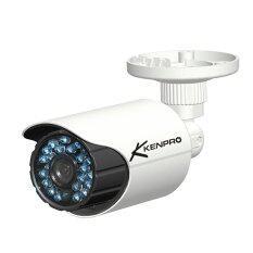 KENPRO CCTV กล้องวงจรปิด CVI ความคมชัด 1 MP เลนส์ 3.6 mm. IR 25M กันน้ำ 100 %, (ใช้กับเครื่อง CVI เท่านั้น)  (สีขาว)