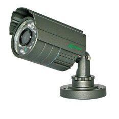 KENPRO : กล้องอินฟราเรด คมชัด 420 TVL,เลนส์ 3.6 mm, IR 20m ,กันน้ำ 100% (สีน้ำตาล)
