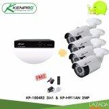 ราคา Kenpro ชุดกล้องวงจรปิด เซท4 Xvr4Ch พร้อมกล้อง รุ่น Kp H911An 2ล้านพิกเซล 4In1 เป็นต้นฉบับ