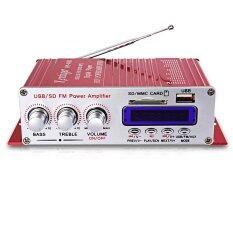 ซื้อ Kentiger Hy 400 สวัสดี Fi เครื่องขยายเสียงระบบเสียงสเตอริโอเอฟเอ็มจอแสดงผล นานาชาติ Unbranded Generic