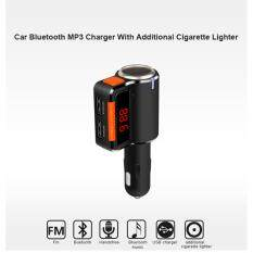 โปรโมชั่น ของแท้100 บลูทูธในรถยนต์ Bc09 Car Mp3 Audio Player Bluetooth Fm Transmitter Wireless Fm Modulator Car Kit Handsfree Lcd Display Usb Charger For Mobile