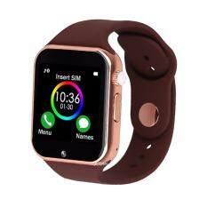 Kimi นาฬิกาโทรศัพท์ Bluetooth Smart Watch รุ่น A1 Phone watch(Gold)