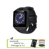 Kimi นาฬิกาโทรศัพท์ Smart Watch รุ่น Dz09 Phone Watch Black ฟรี ซองกำมะหยี่ สาย Usb ลำโพงบลูทูธ รุ่น X7U คละสี เป็นต้นฉบับ