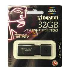อุปกรณ์เก็บสำรองข้อมูล Kingston DataTraveler100  32 GB