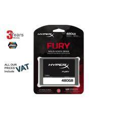 ขาย 480 Gb Ssd เอสเอสดี Kingston Digital Hyperx Fury 480Gb Ssd Sata 3 2 5 Solid State Drive Shfs37A 480G 3 Years Synnex Servicecenter Kingston