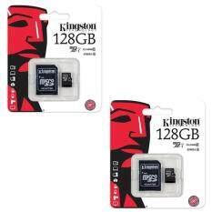 ราคา Kingston Kingston Memory Card Micro Sd Sdhc 128 Gb Class 10 คิงส์ตัน เมมโมรี่การ์ด 128 Gb 2ชิ้น ออนไลน์