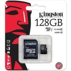 Kingston Kingston Memory Card Micro SD SDHC 128 GB Class 10 คิงส์ตัน เมมโมรี่การ์ด 128 GB