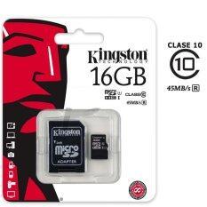 ราคา ราคาถูกที่สุด Kingston 16Gb Micro Sd Sdhc Uhs I Class 10 Memory Card Sdc10G2 16Gb