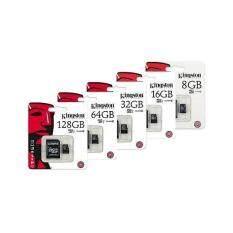 Kingston Memory Card Micro SD SDHC 2/4/8/16/32/64/128/256 GB Class 10 คิงส์ตัน เมมโมรี่การ์ด SD Card