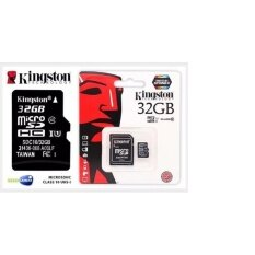 Kingston Memory Micro Sd Card Class 10 32gb With Adapter By Ar Store.