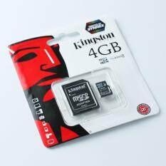 ขาย Kingston Memory Micro Sd Card Class 4 4Gb With Adapter Kingston ใน กรุงเทพมหานคร