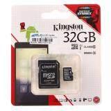 ขาย Kingston เมมโมรี่การ์ด Micro Sd Card Class 10 80Mb S 32Gb With Adapter Sdc10G2 32Gbfr Kingston ผู้ค้าส่ง