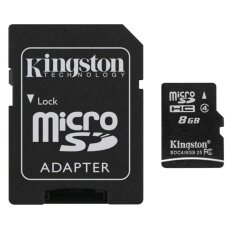 Kingston Micro SD Card Class 4 - 8GB with Adapter