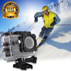 กล้องจักรยาน action cam waterproof 30m Full HD (สีดำ)