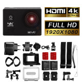 ขาย กล้องกันน้ำ 12Mp 4K 1080P 2 Wifi Sports Action Camera สีเงิน Lf744 ถูก Thailand