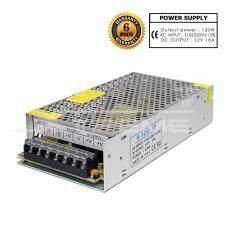กล่องรวมไฟ CCTV Adapter Power Supply (แบบรังผึ้ง) 7 ช่อง 12V 10A สำหรับกล้องวงจรปิด และไฟ LED ไม่ต้องใช้ อแดปเตอร์ Power Supply
