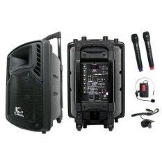 K.Power KTP-10BT ตู้ลำโพงเอนกประสงค์ (Black)