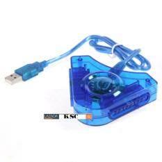 KSC ตัวแปลงจอยเพลย์ Joy Play2 To PC USB (สีฟ้า)