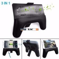 KSC Joypod K3 จอยถือด้ามจับเล่นเกมสำหรับมือถือ 3 in 1 เป็น Power Bank และ พัดลมในตัว